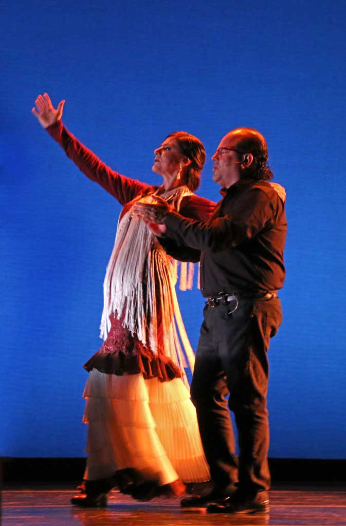 Carola Zertuche and Jose Mendez