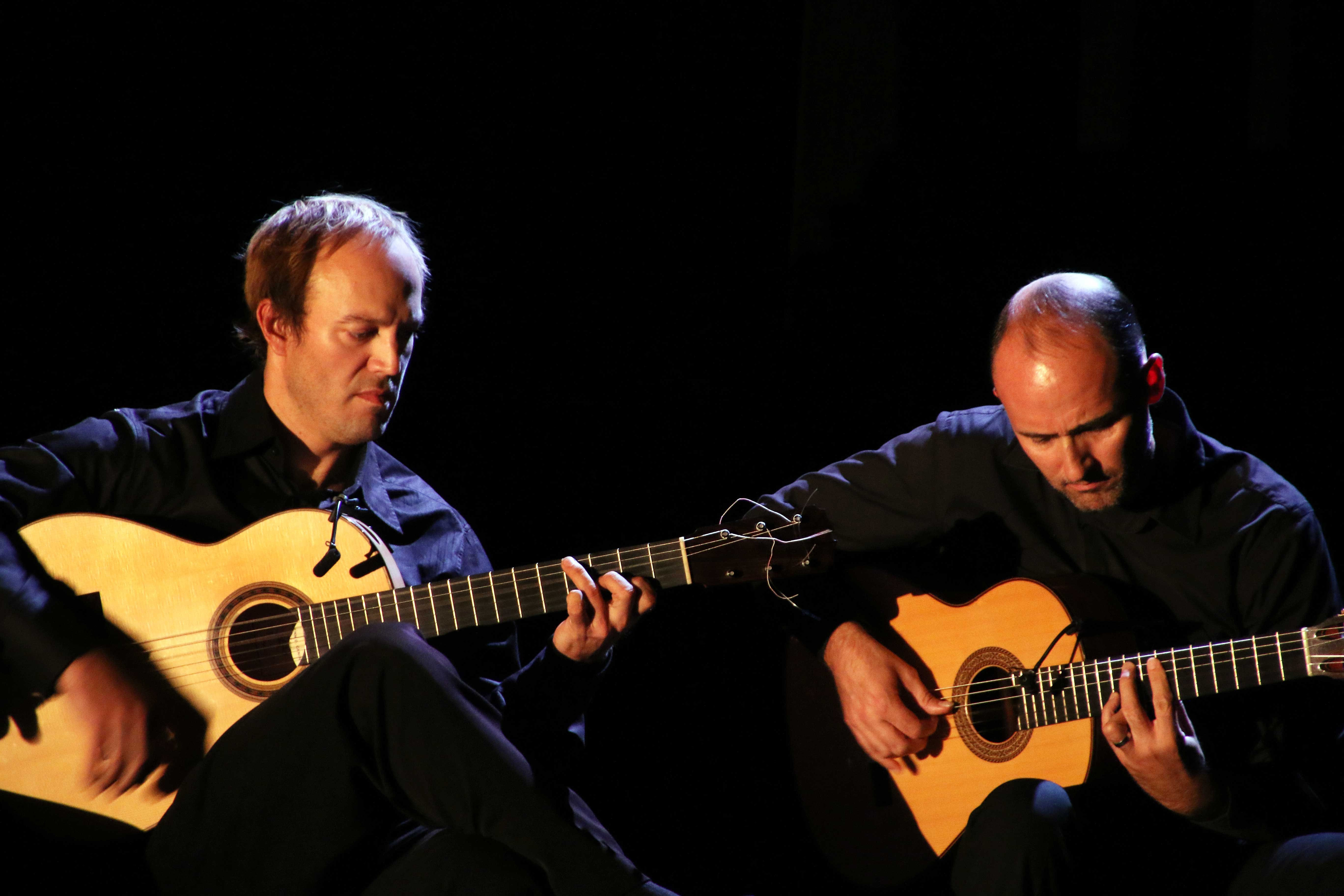 David McLean and Roberto Aguilar